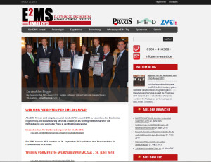 Website EMS-Award