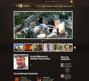 Website Holzkuenstler Thomas Schwarz
